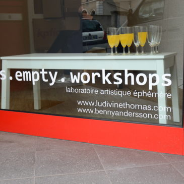 tables.empty.workshop – Une galerie Pop-Up à Montargis