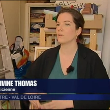 On parle de la galerie Tables.empty.workshops sur France 3 !