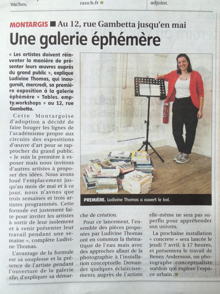 Article Ludivine Thomas Montargis République du centre